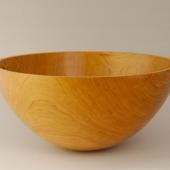 Large cherry calabash bowl