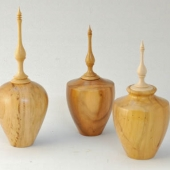 Finial Lidded boxes