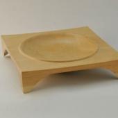 Square Cherry platter