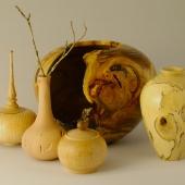 Weed pots, hollowform, vase